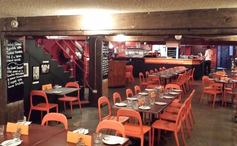 Verve Italian Restaurant in Brisbane's Edward St.